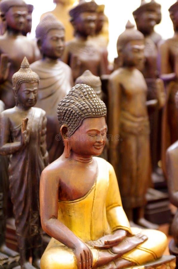 Buddha-Statuen lizenzfreies stockfoto