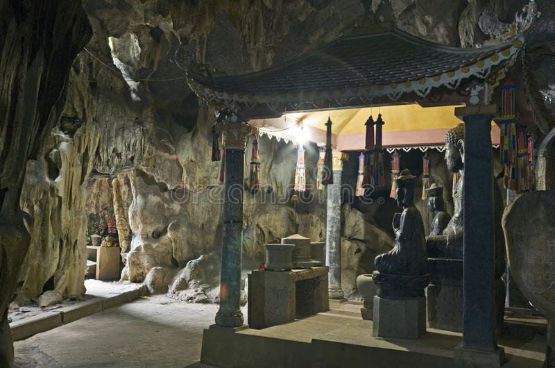 Download Buddha Statues in Cave stock photo. Image of buddhist - 20598990