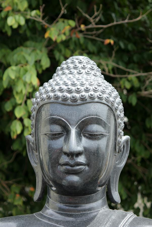Buddha statues in various postures. Buddha statue that Buddhists respect royalty free stock photos