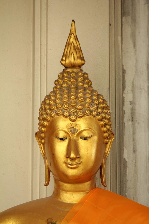 Buddha statues in various postures. Buddha statue that Buddhists respect stock photos
