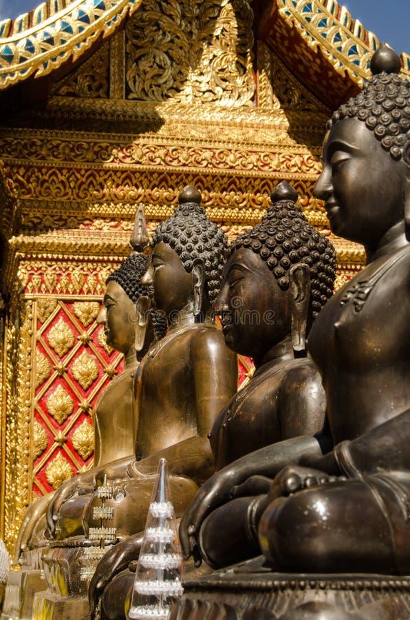 Download Buddha Statues,Wat Phrathat Doi Suthep Stock Image - Image: 28646955