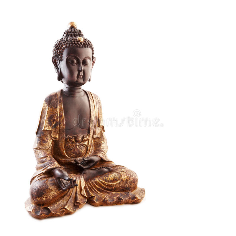 Buddha statuette royalty free stock photos