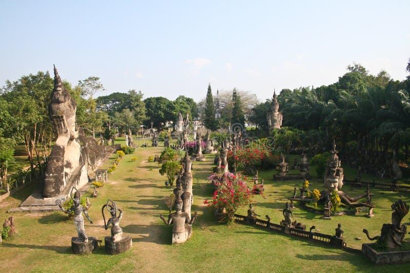 buddha statyer royaltyfri bild