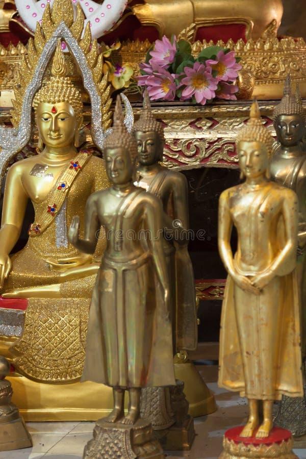 buddha statyer fotografering för bildbyråer