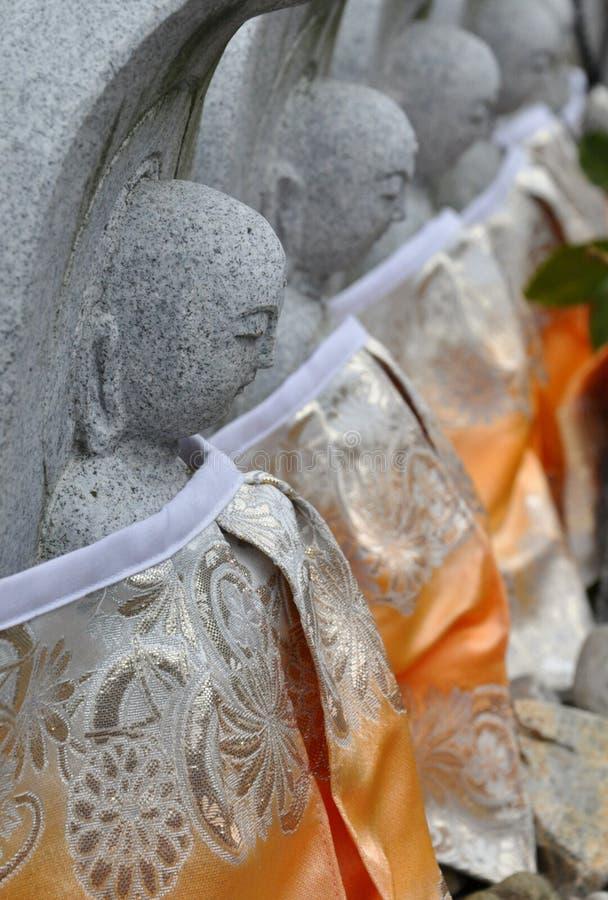 buddha statyer tokyo fotografering för bildbyråer