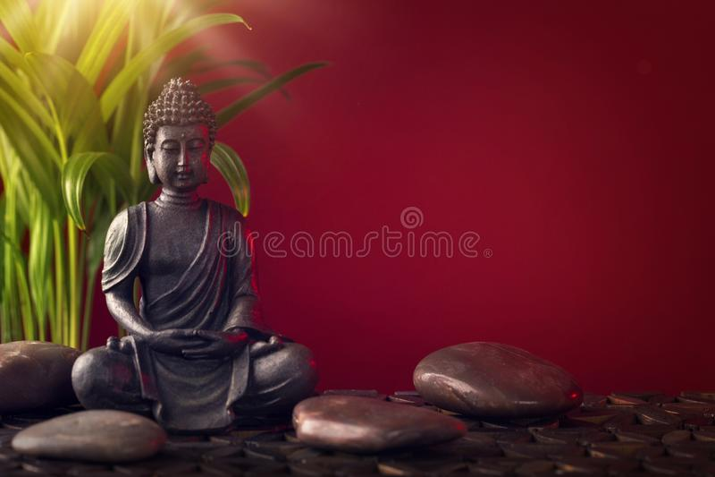 buddha statystenar royaltyfri foto