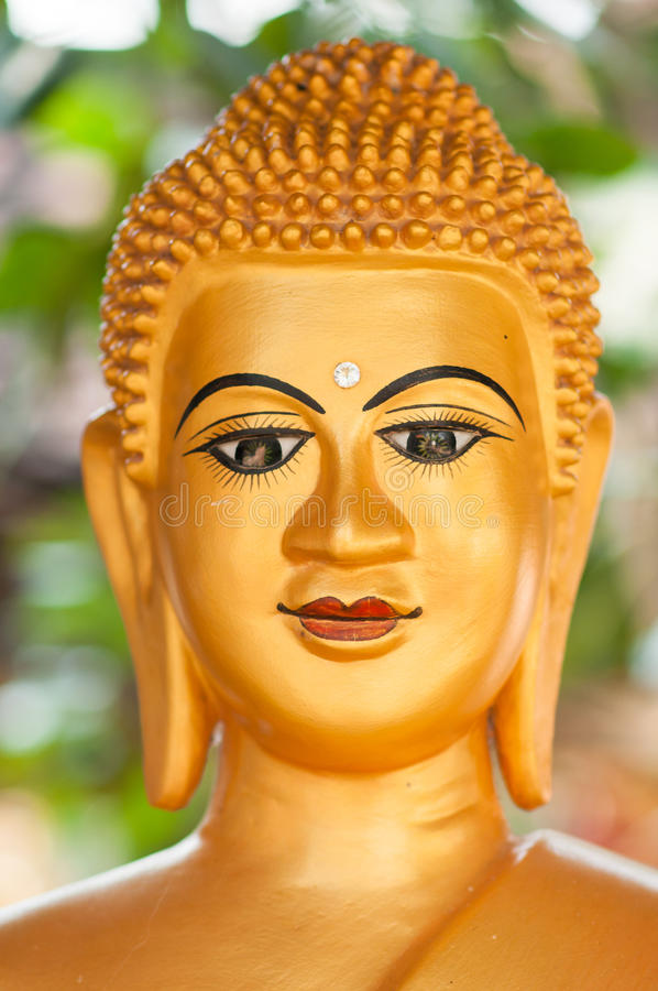 buddha staue arkivbild