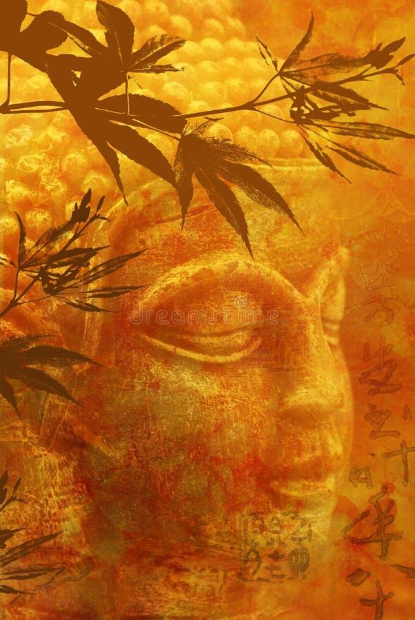 Buddha Staue royalty free illustration