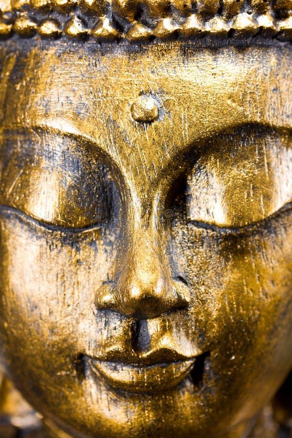Buddha stawia czoło zdjęcia stock