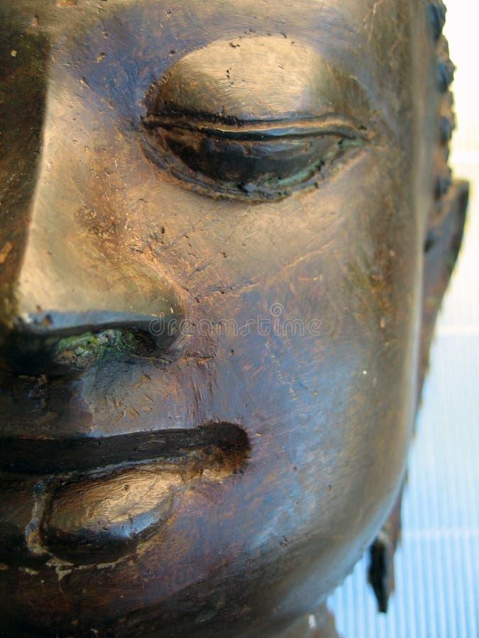 Buddha Stawia Czoło Bezpłatne Zdjęcie Stock