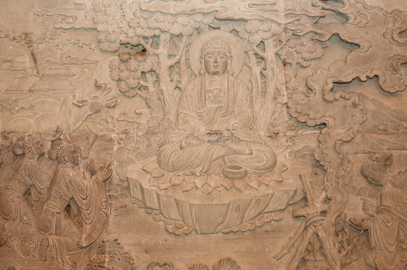 Download Buddha Stone Carving stock image. Image of culture, asian - 18402783
