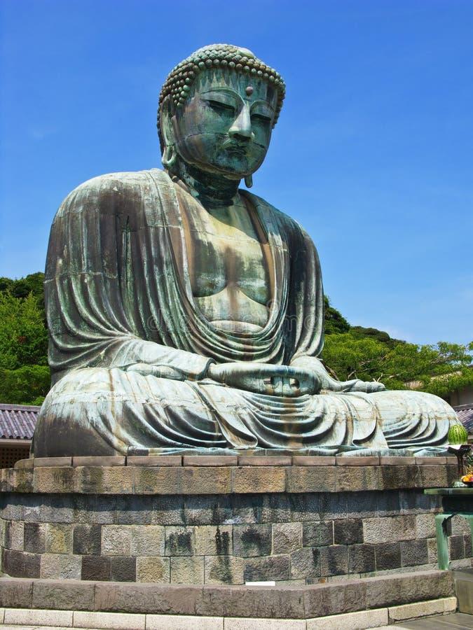 buddha stor staty arkivfoto