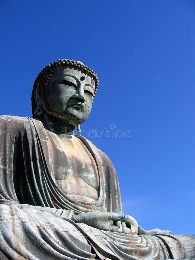 buddha stora japan kamakura arkivbild