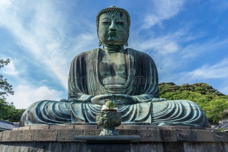 buddha stora kamakura arkivbild