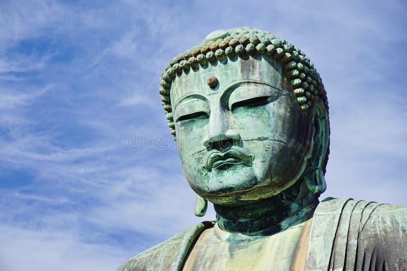 buddha stora kamakura royaltyfri bild