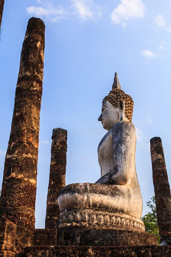 Buddha sukhothai stock photos