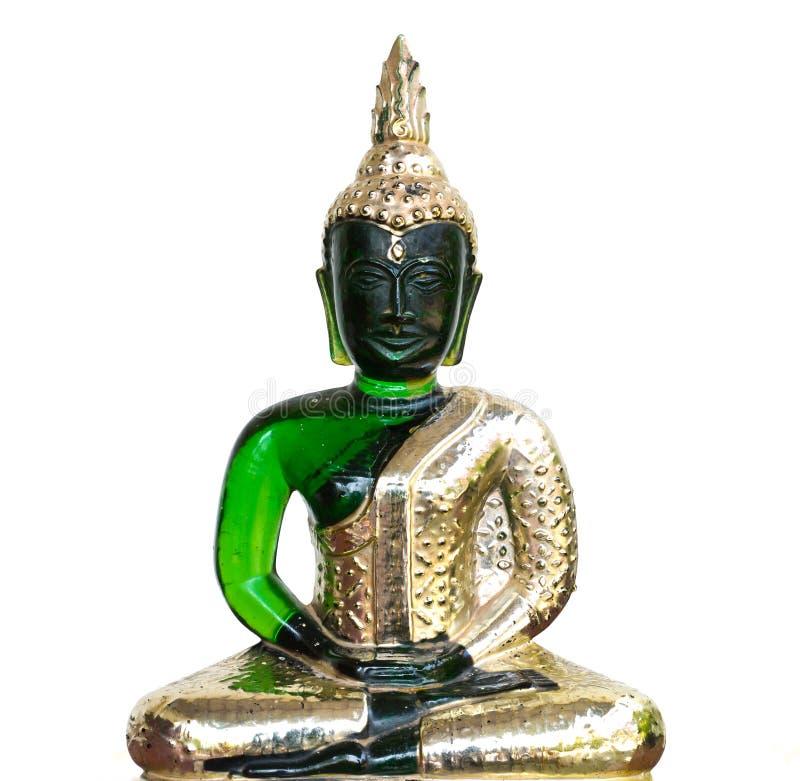 buddha szmaragdu wizerunek fotografia royalty free
