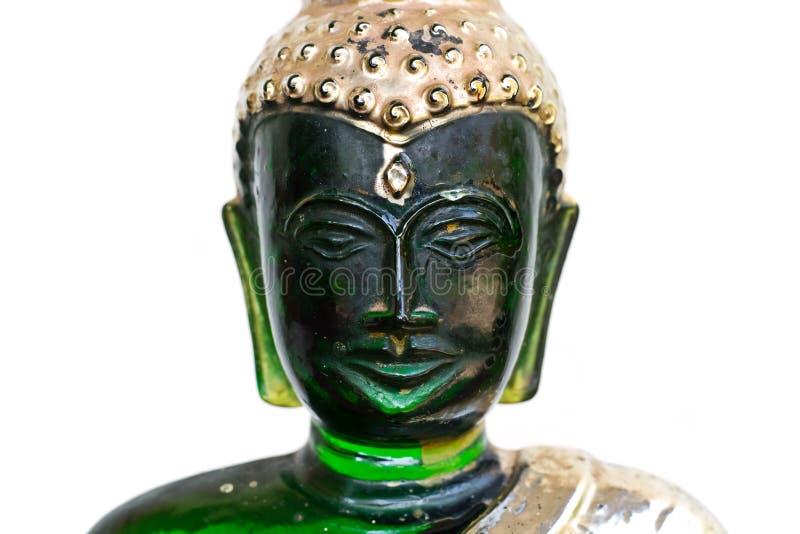 buddha szmaragdu wizerunek obraz royalty free