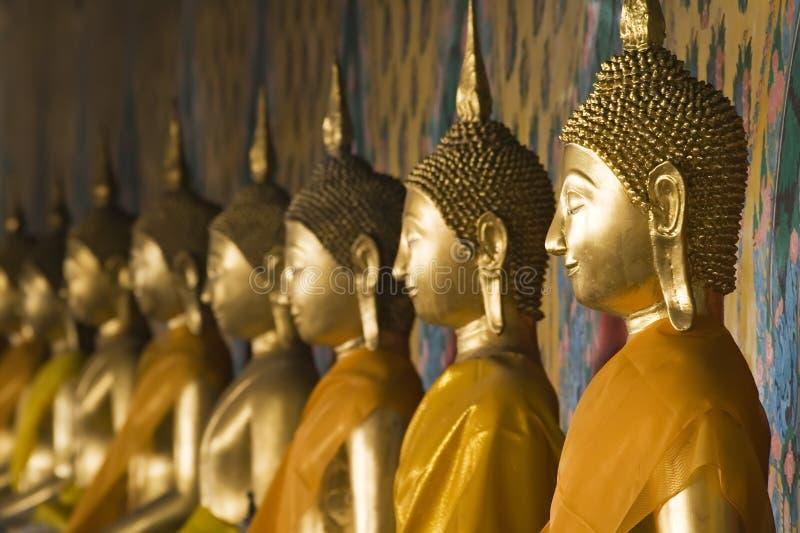 Buddha tailandês fotografia de stock