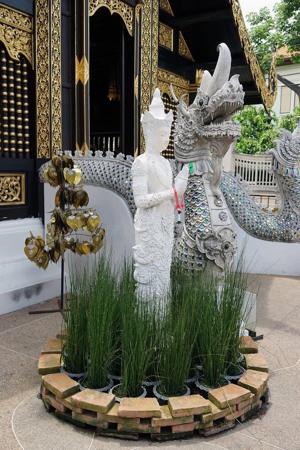 Buddha Tajlandia buddyzmu Świątynnego bóg podróży Złocista religia zdjęcia royalty free