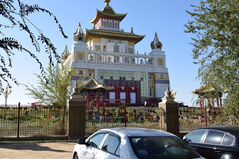 Buddha-Tempel stockbild