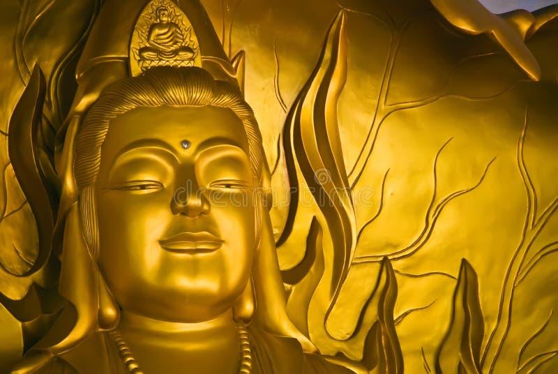 buddha tempel vietnam royaltyfria bilder