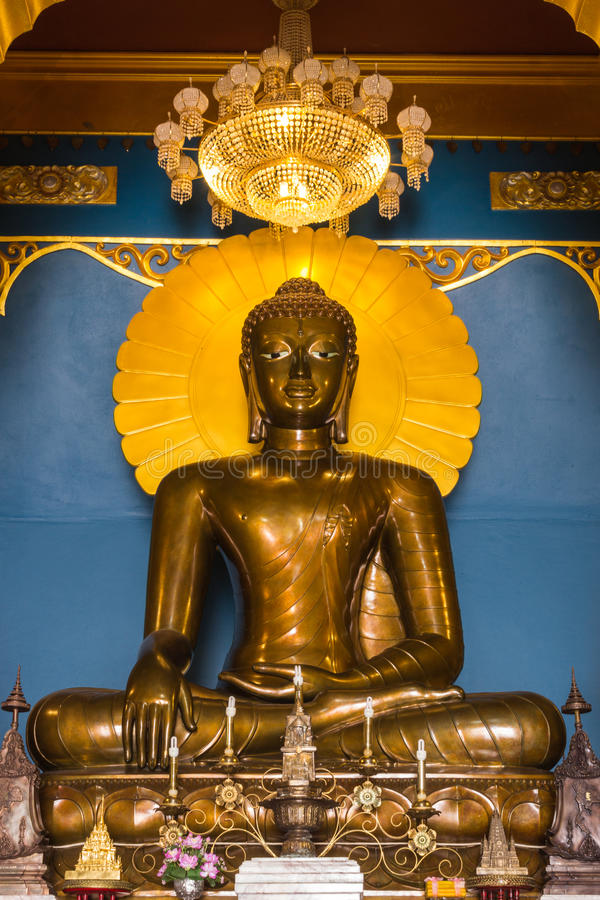 Download Buddha In A Temple Of Thailand Stock Photos - Image: 24421293