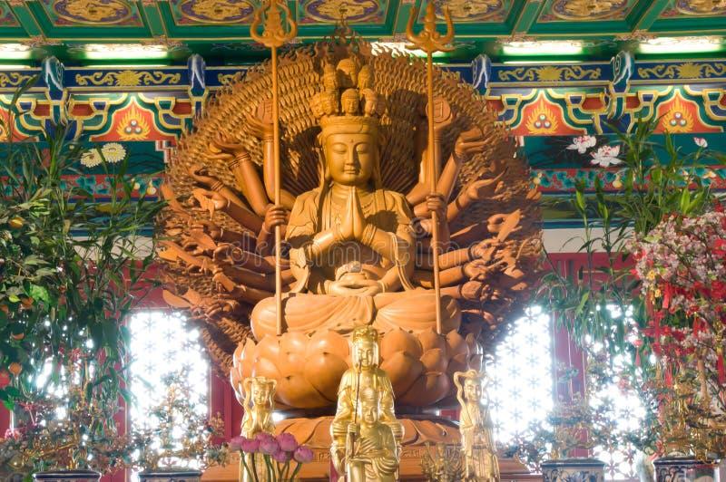 Buddha, templo chino, Tailandia imagen de archivo