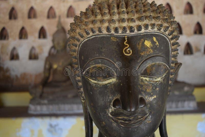 Buddha-testa immagini stock libere da diritti