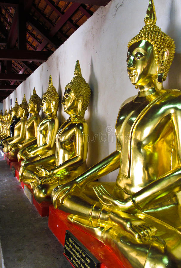 Buddha of thailand royalty free stock images