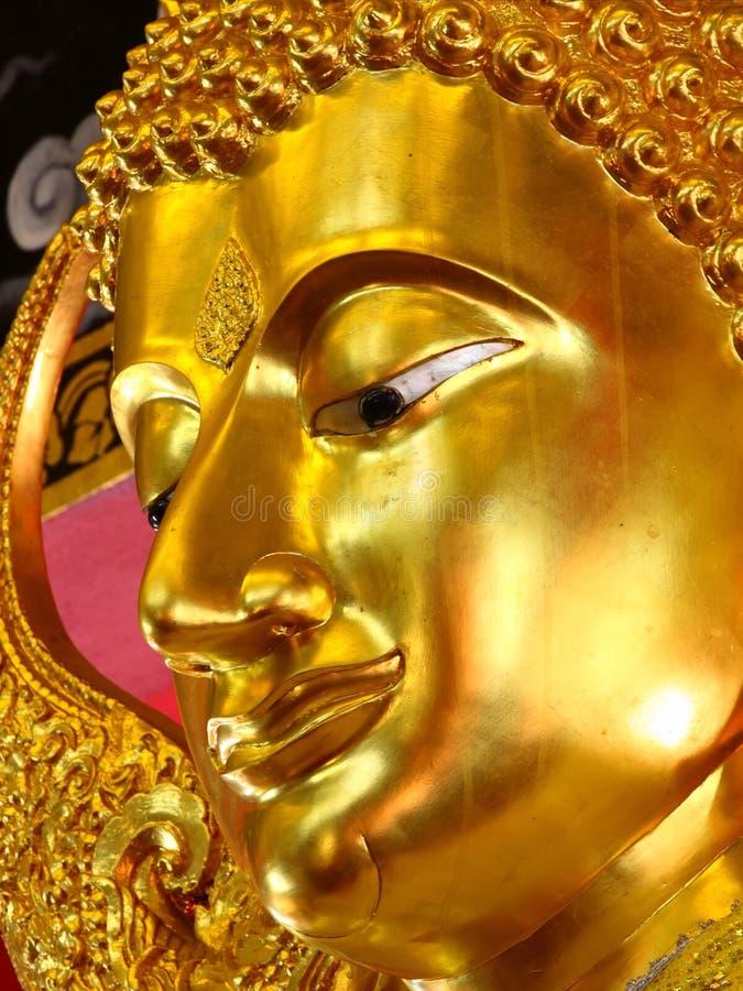 buddha twarz obraz stock