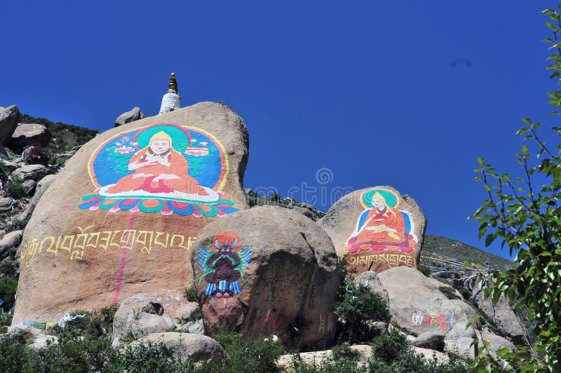 Buddha, Tybet zdjęcia stock