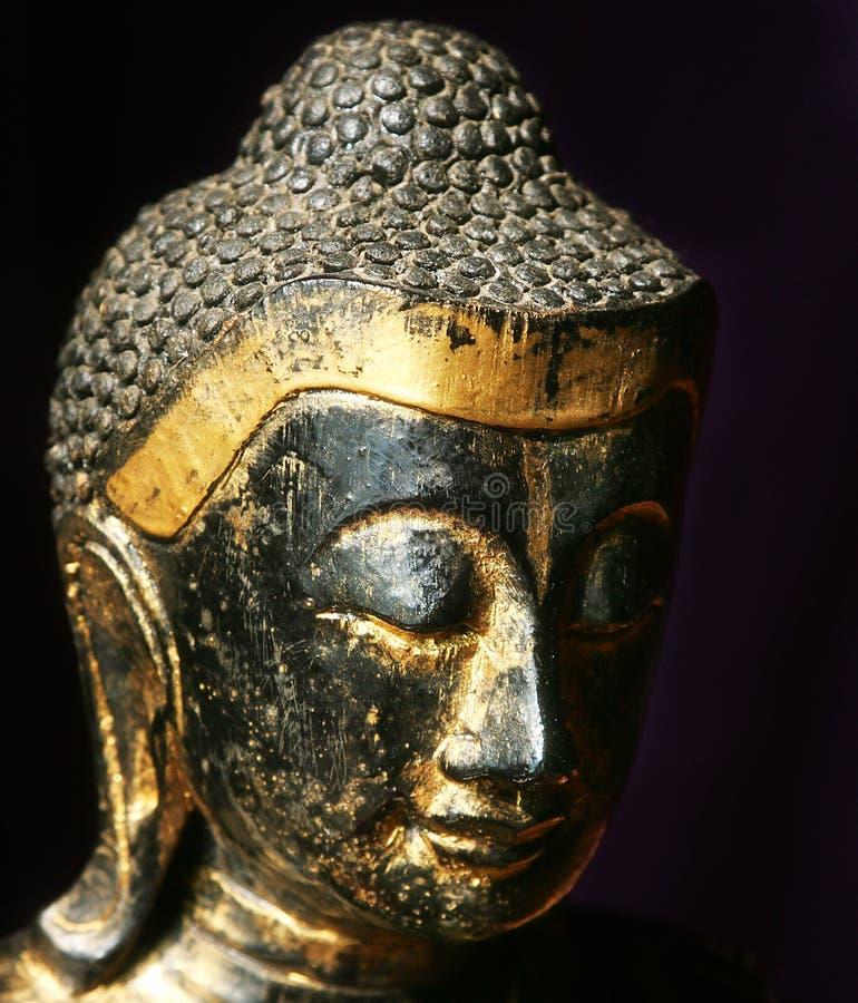 Buddha und Kerzen stockfotos