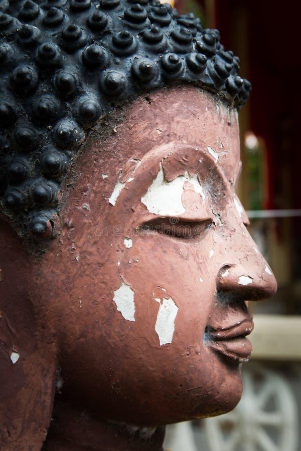 Buddha vänder mot royaltyfria bilder