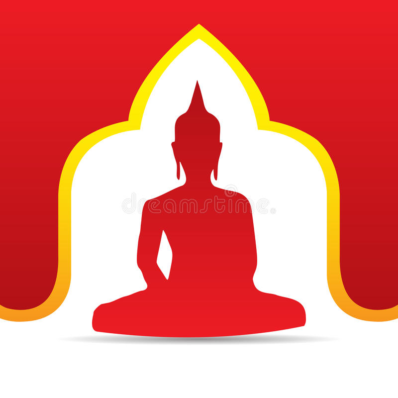 Buddha Vector illustration stock image