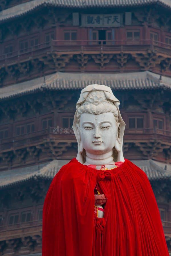 Buddha vestito Sakyamuni fotografia stock