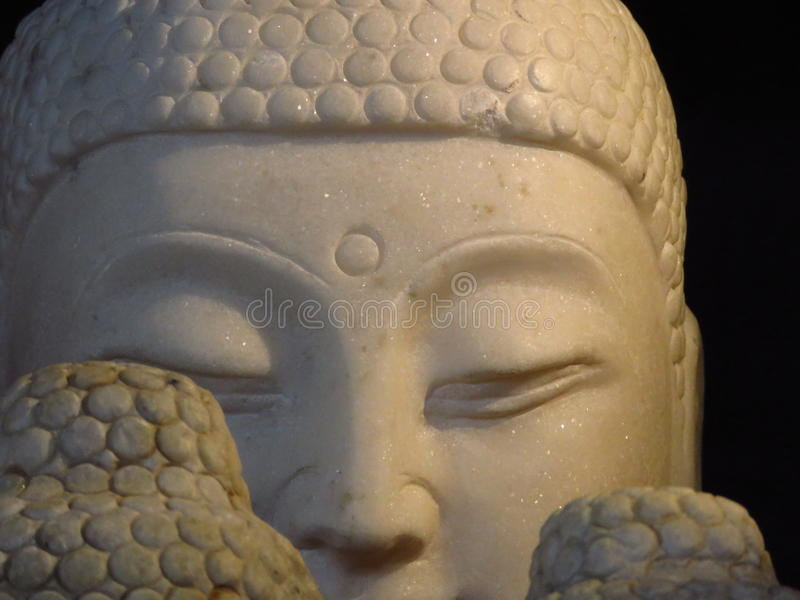 Buddha& x27 ; visage de s photo libre de droits