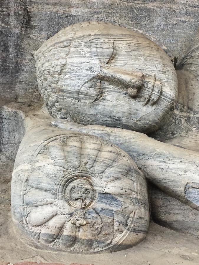 Buddha von Sri Lanka lizenzfreie stockbilder