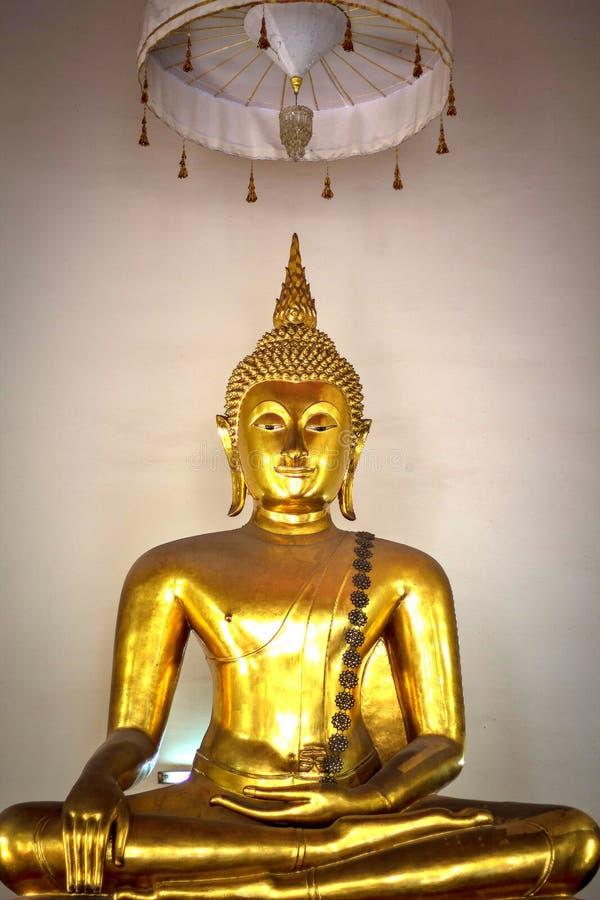 Buddha von Thailand stockbild