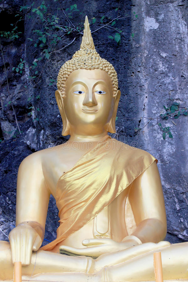 Buddha von Thailand lizenzfreies stockbild
