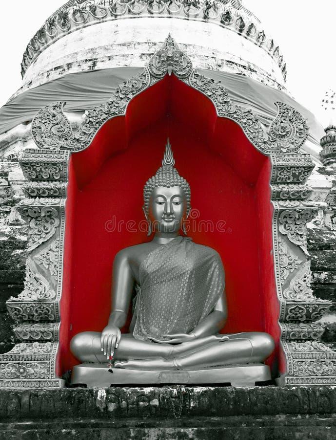 Buddha w rewolucjonistce fotografia stock