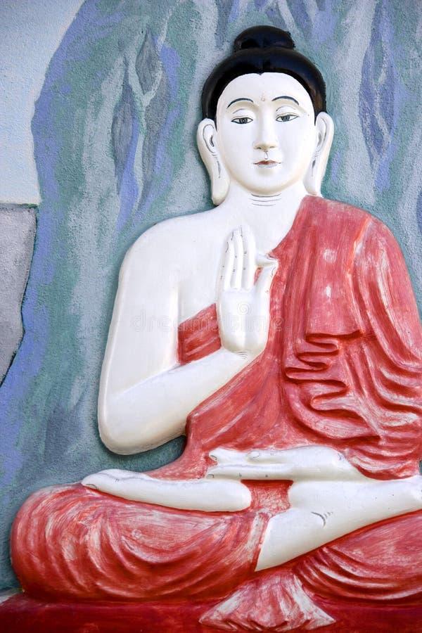 Free Buddha Wall Sculpture Royalty Free Stock Image - 7476586