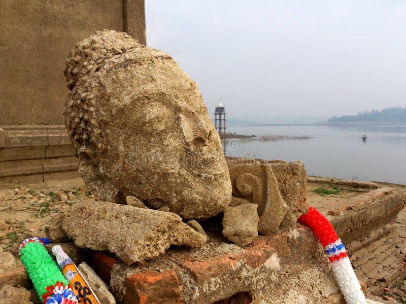 Buddha Wang zwycięzcy Vega baranu świątynia. obraz royalty free