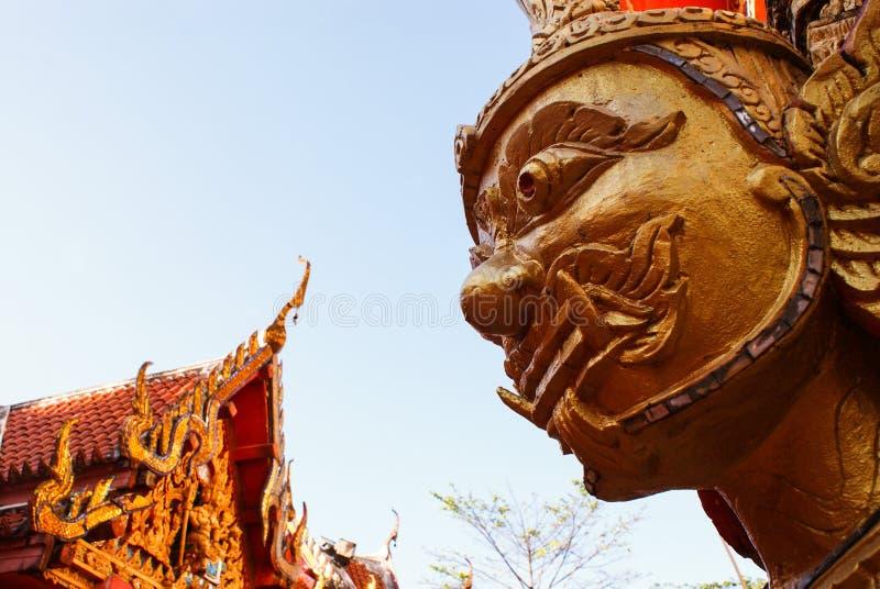 Buddha / Wat Bang Riang in Phang Nga Province, Thailand. stock photo
