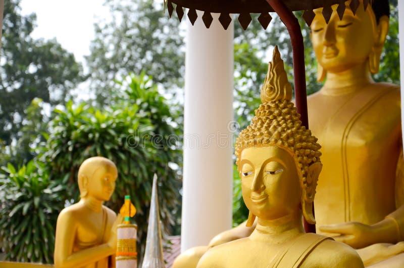 Buddha wizerunek Saket świątynia jest antycznym Buddyjskim świątynią w Vientiane obraz royalty free