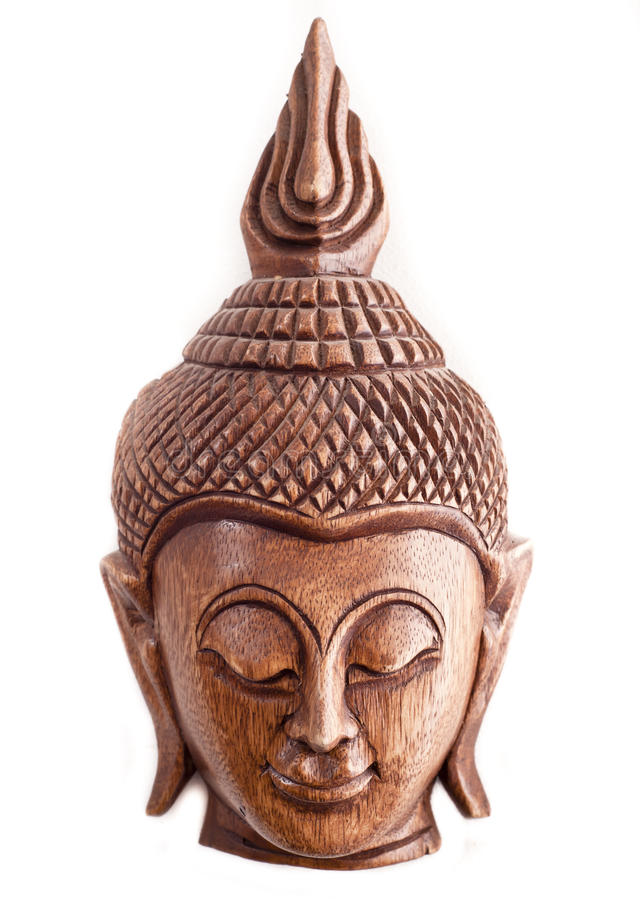 Download Buddha Wooden Mask From Thailand Stock Image - Image: 19099319