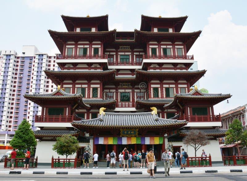 Buddha-Zahn-Relikt-Tempel und Museum lizenzfreie stockfotos