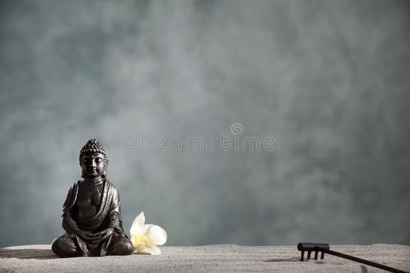 Buddha Zen. Religious concept stock image