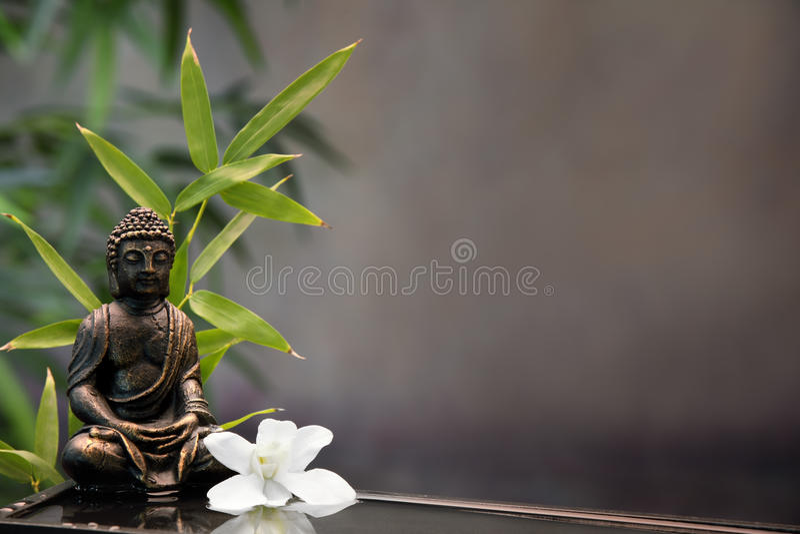Buddha Zen fotografia stock