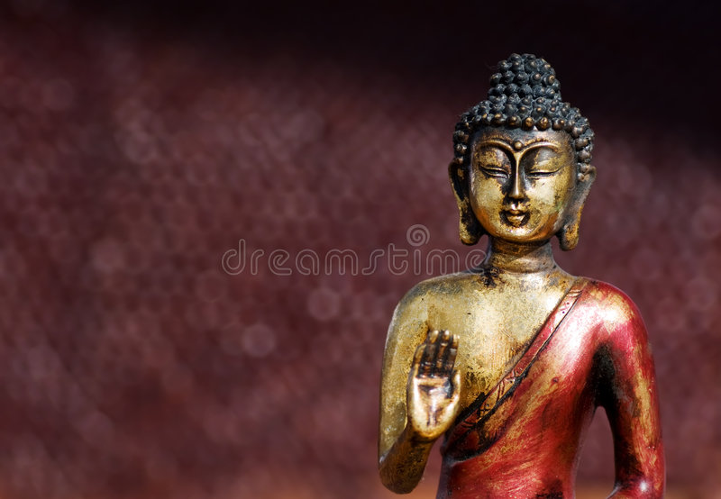 Buddha zen statue royalty free stock images